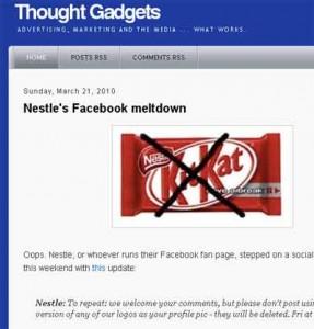 Lernen auf die harte Tour - Nestles Fehltritt im sozialen Netzwerk