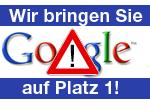 Bei Google auf Platz 1