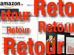 Retouren bei AMAZON